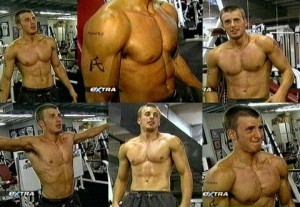 Chris-Evans-Captian-America-Workout-In-Gym