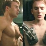 chris evans before after weight captain america